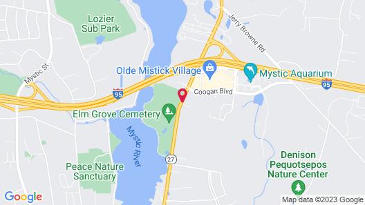 Hyatt Place Mystic Map