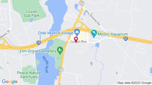 Holiday Inn Express Mystic, an IHG Hotel Map