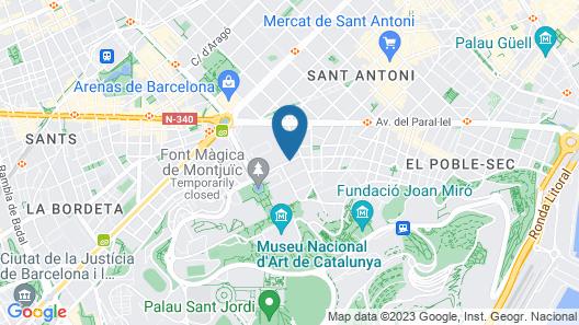 InterContinental Barcelona, an IHG Hotel Map