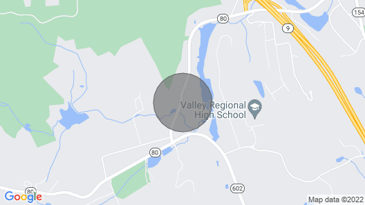 Peace Barn in the Heart of the CT River Valley Map