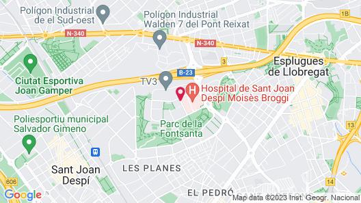 Hesperia Sant Joan Map