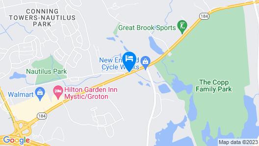 Gold Star Inn & Suites Map