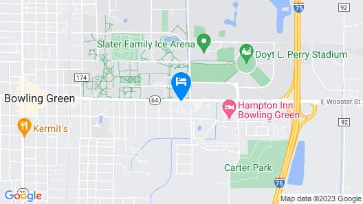 Best Western Falcon Plaza Map