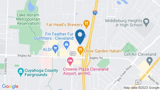 Sonesta ES Suites Cleveland Airport Map
