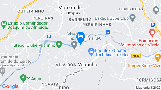 Baiona Guesthouse Map