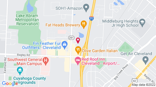 Extended Stay America - Cleveland - Middleburg Heights Map