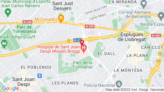 Novotel Barcelona S Joan Despi Map