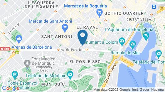 Hotel Millenni Map