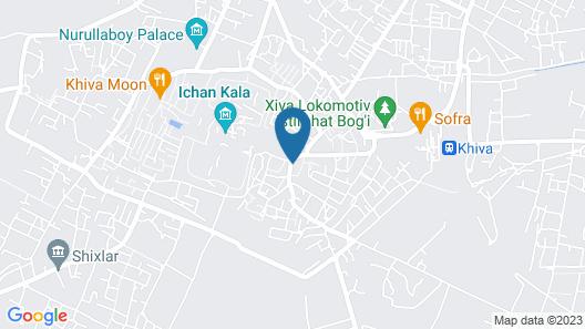 Madrasah Polvon-qori Boutique Map