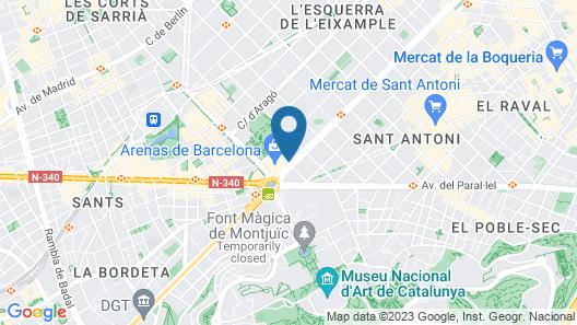 B-Hotel Map