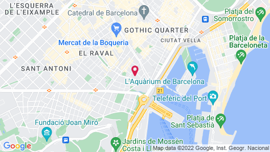 Sixties Ramblas Map