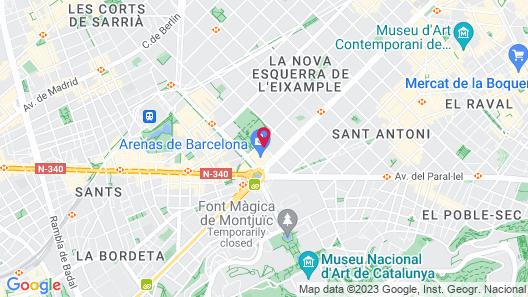 Ofelias Hotel Map