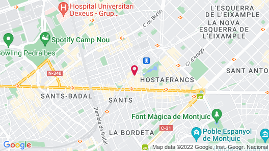 Cosmo Apartments Sants Map