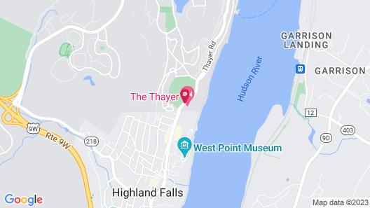 Thayer Hotel Map