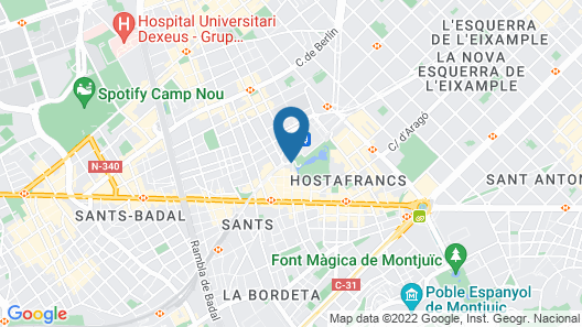 AC Hotel Sants by Marriott Map