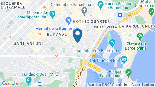 Central & Basic Drassanes Map