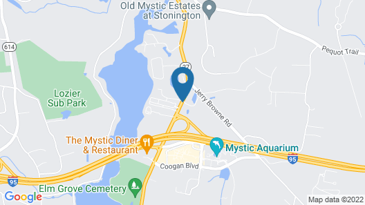 Residence Inn by Marriott Mystic Groton Map