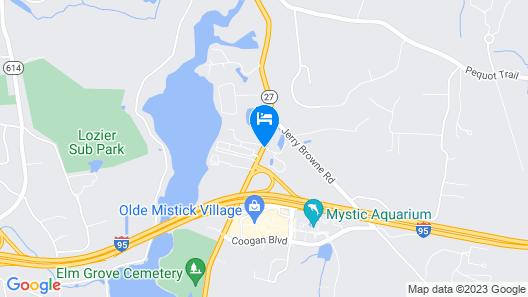 Residence Inn by Marriott Mystic Groton Map