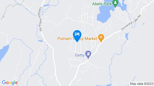 Mountain lake lodge. Map