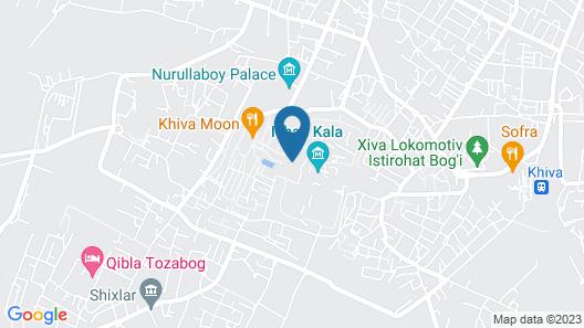 Hotel New Star Khiva Map