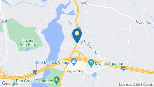 Days Inn by Wyndham Mystic Map