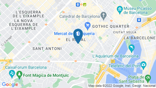 Niu Barcelona Map