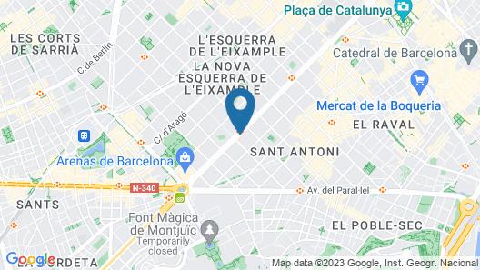Eric Vökel Boutique Apartments Gran Vía Suites Map