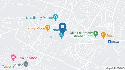 Islambek Hotel Map