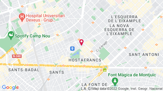 Nobu Hotel Barcelona Map