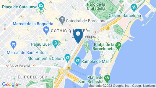 Hotel Duquesa de Cardona Map
