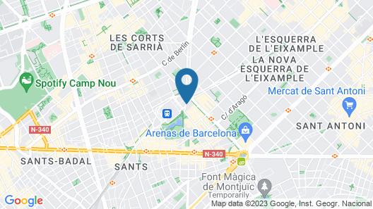Gran Hotel Torre Catalunya Map