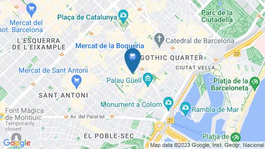 Hotel Sant Agustí Map