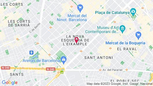 Aparthotel Atenea Calabria Map