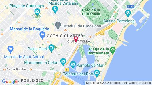 Duquesa Suites Map