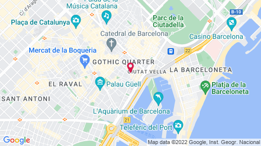Bcn2stay Apartments Map