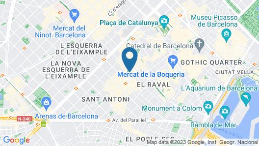 Hotel Ronda House Map