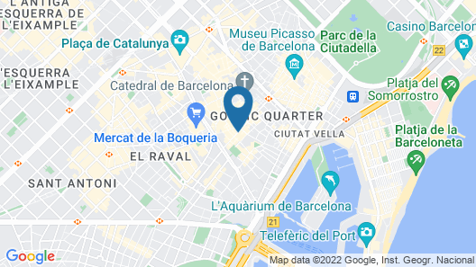 Hostal Fernando Map