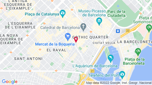 Hotel Ingles Map