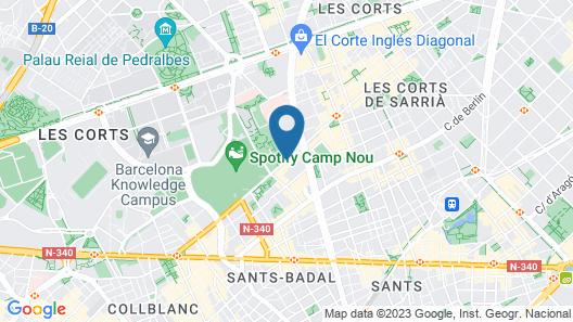 NH Barcelona Stadium Map
