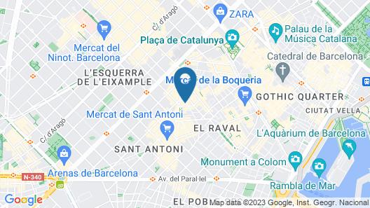 H La Paloma Love Hotel - Adults Only Map