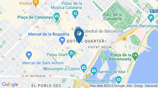 Rialto Map