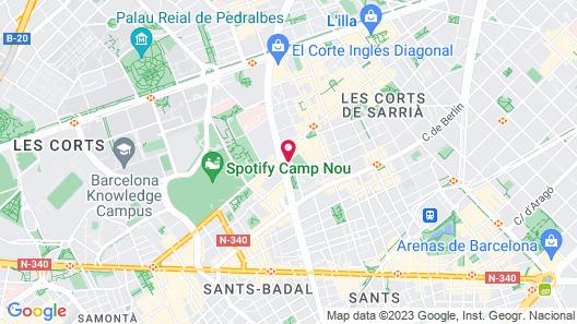 Alcam Futbol Map