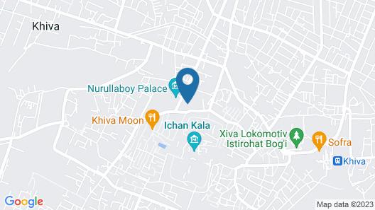 Khiva Sharofat ona Map