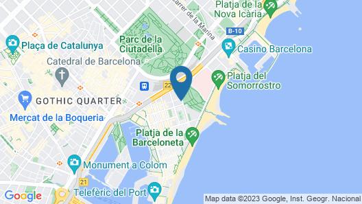 Residencia Universitaria Campus del Mar Map