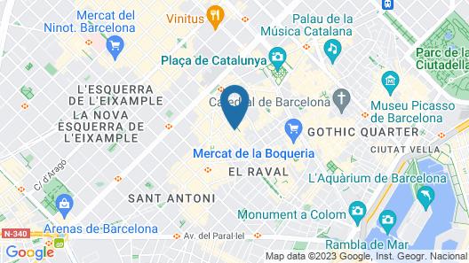 Acta BCN 40 Map