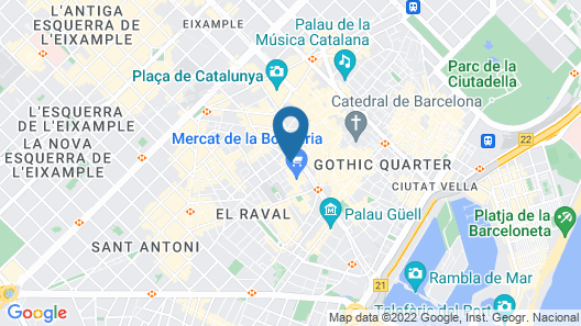 Short Stay Group Liceu Serviced Apartments Map