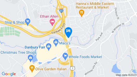 Residence Inn Marriott Danbury Map
