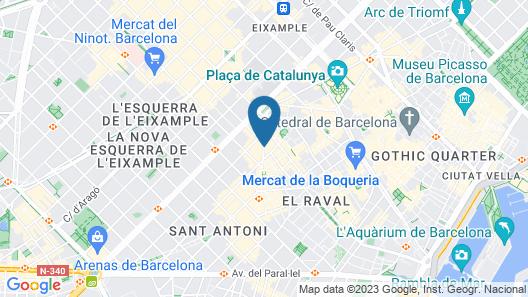 Bcn Urbaness Gran Ronda Map