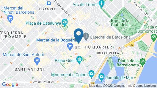 H10 Raco del Pi Map