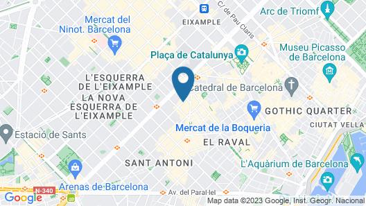 Hotel Casa Elliot Map